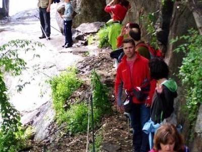 Valle del Jerte - Cascada de los Nogaledas; puente de semana santa